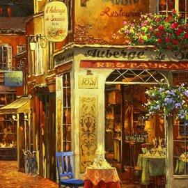 Bluebird Bluebird puzzle Auberge de Savoie restaurant (1000 stukjes)