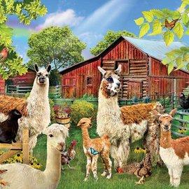 Sunsout SunsOut puzzel Six Llamas (1000 stukjes)