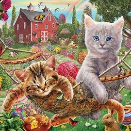 Sunsout SunsOut puzzel Cats on the Farm (1000 stukjes)