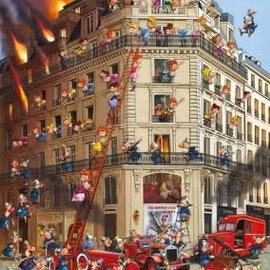 Piatnik Piatnik puzzel Fire Brigade - Francois Ruyer (1000 stukjes)