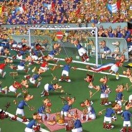Piatnik Piatnik puzzel Football - Francois Ruyer  (1000 stukjes)