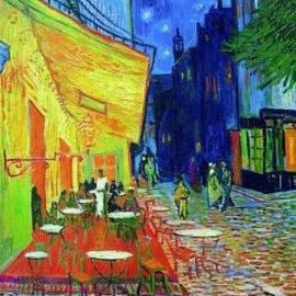 Piatnik Caféterras bij Nacht - Vincent van Gogh (1000 stukjes)