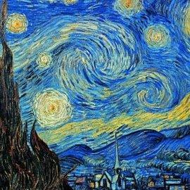 Piatnik De Sterrennacht - Vincent van Gogh (1000 stukjes)
