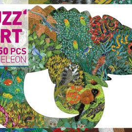 Djeco Djeco 7655 Puzzelkunst - Kameleon (150 stukjes)