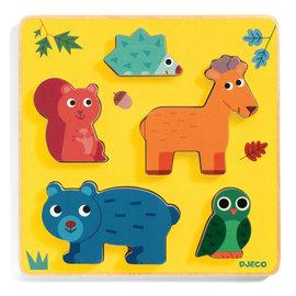 Djeco Djeco 1059 Relief puzzel Dieren