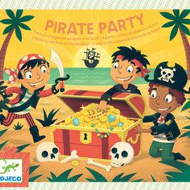 Djeco Djeco 2095 Verjaardagsspellen - Piraten feest