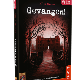 999 Games 999 Games Adventure by Book: Gevangen!