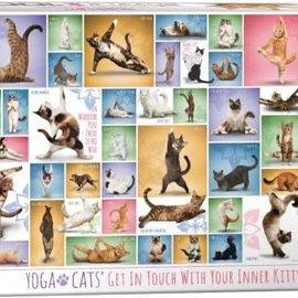 Eurographics Yoga Cats (1000 stukjes)