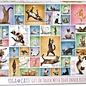Eurographics Eurographics puzzel Yoga Cats (1000 stukjes)