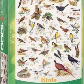 Eurographics Eurographics puzzel Birds (1000 stukjes)
