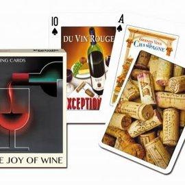 Piatnik Joy Of Wine Speelkaarten - Single Deck