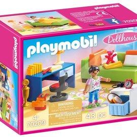 Playmobil Playmobil Kinderkamer met bedbank (70209)