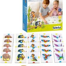 Beleduc Beleduc - Birdy - Vogelkleuren rangschikken