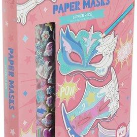 Tiger Tribe Tiger Tribe Papieren maskers power (10 maskertjes)