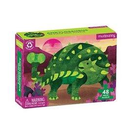 Mudpuppy Mudpuppy mini puzzel Ankylosaurus (48 stukjes)