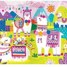 Mudpuppy Mudpuppy Zachte puzzel Lama land (48 stukjes)