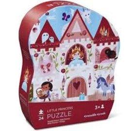 Crocodile Creek puzzel kleine prinsses(24 stukjes)
