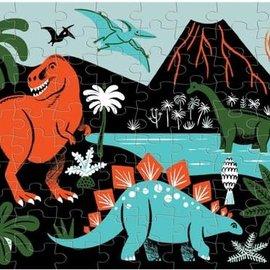 Mudpuppy Glow in the dark puzzel Dinosaurussen (100 stukjes)