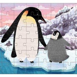 Mudpuppy Mudpuppy Mini puzzel Konings pinguin (48 stukjes)