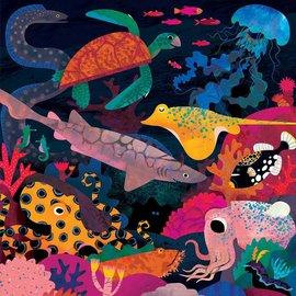Mudpuppy Glow in the dark puzzel Oceaan (500 stukjes)