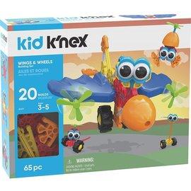 Knex Kid K'Nex Wings & Wheels