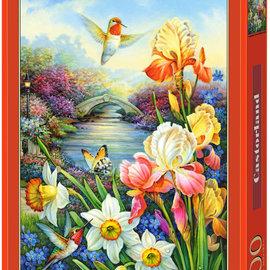Castorland Castorland puzzel Gouden Irissen (1500 stukjes)