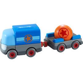 Haba Haba 304820 Vrachtwagen met aanhangwagen, op batterijen