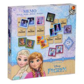 Disney Spel  Disney Frozen Memo (houten)