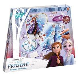 Totum Totum Disney Frozen 2 - 3D kaarten met Strass