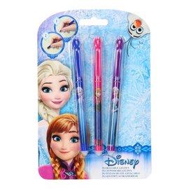 Disney Frozen Uitwisbare Gelpennen, 3 stuks