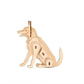 Kikkerland Houten 3D puzzel Op de boerderij - Hond
