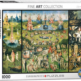 Eurographics Eurographics puzzel - The garden of early delights (1000 stukjes)