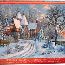 Eurographics Eurographics puzzel Christmas Cottage (1000 stukjes)