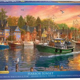Eurographics Eurographics puzzel Harbor Sunset (1000 stukjes)