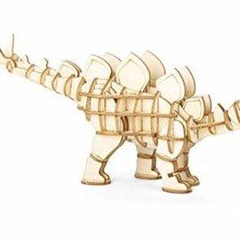 Kikkerland Houten 3D puzzel - Stegosaurus