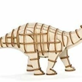 Kikkerland Houten 3D puzzel -  Apatosaurus