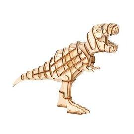 Kikkerland Houten 3D puzzel - T-Rex