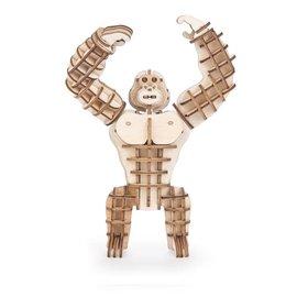 Kikkerland Houten 3D puzzel - Gorilla
