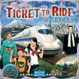 Asmodee Ticket to Ride: Japan incl. Italie  (uitbreiding)
