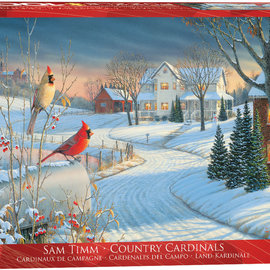 Eurographics Eurographics puzzel Country Cardinals (1000 stukjes)