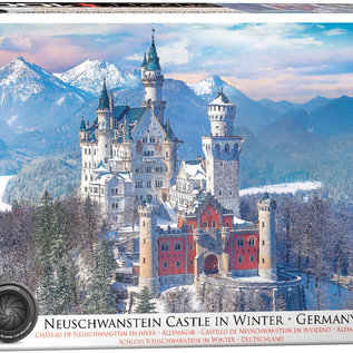 Eurographics Eurographics puzzel Neuschwanstein Castle in winter (1000 stukjes)