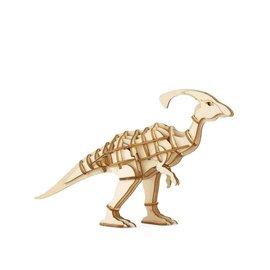 Kikkerland Houten 3D puzzel Parasauropholus