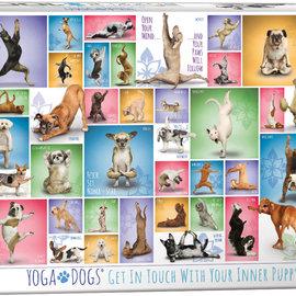 Eurographics Eurographics puzzel Yoga Dogs (1000 stukjes)
