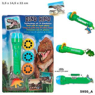 TopModel Dino World zaklamp met plaatjes