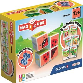 geomag Geomag MagiCube Insects - 7 delig