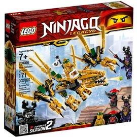 Lego 70666 Lego Ninjago de gouden draak