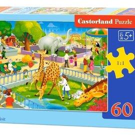 Castorland Castorland puzzel Dierentuinbezoek (60 stukjes)