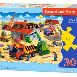 Castorland Castorland puzzel House in construction (30 stukjes)
