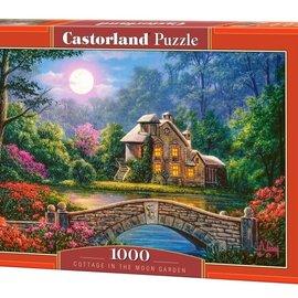 Castorland Castorland puzzel Cottage in the moon garden (1000 stukjes)