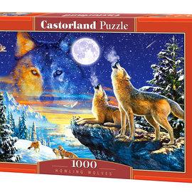 Castorland Castorland puzzel Howling Wolves (1000 stukjes)